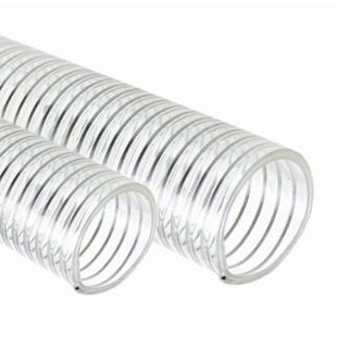 TYPE FUSD - FOOD GRADE PU SUCTION HOSE WITH WIRE HELIX