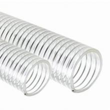 TYPE FPUSD - FOOD GRADE PU SUCTION HOSE WITH WIRE HELIX