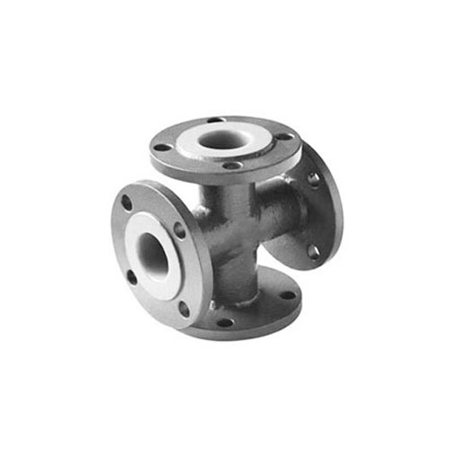 TYPE PLCL - PFA lined cross flange