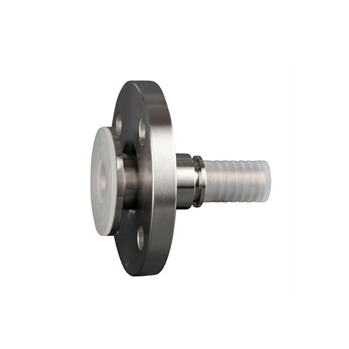 TYPE PLSLT - PFA lined swivel flange with toothed hose shank