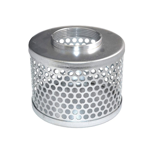 TYPE RHS - Round Hole Strainer Plated Steel