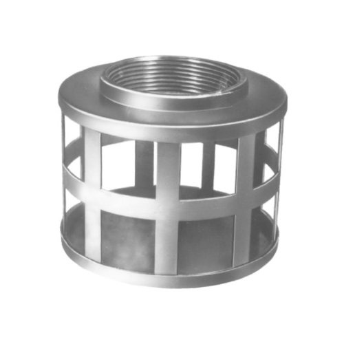 TYPE SHS - Square Hole Strainer Plated Steel