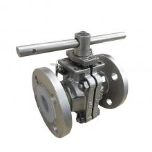 FEP or PFA Lined Ball Valve