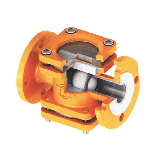 FEP or PFA Lined Check Valve