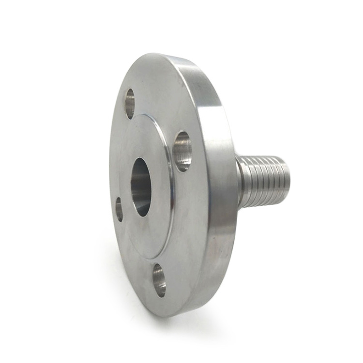 TYPE FLT - Fixed flange with toothed hose shank