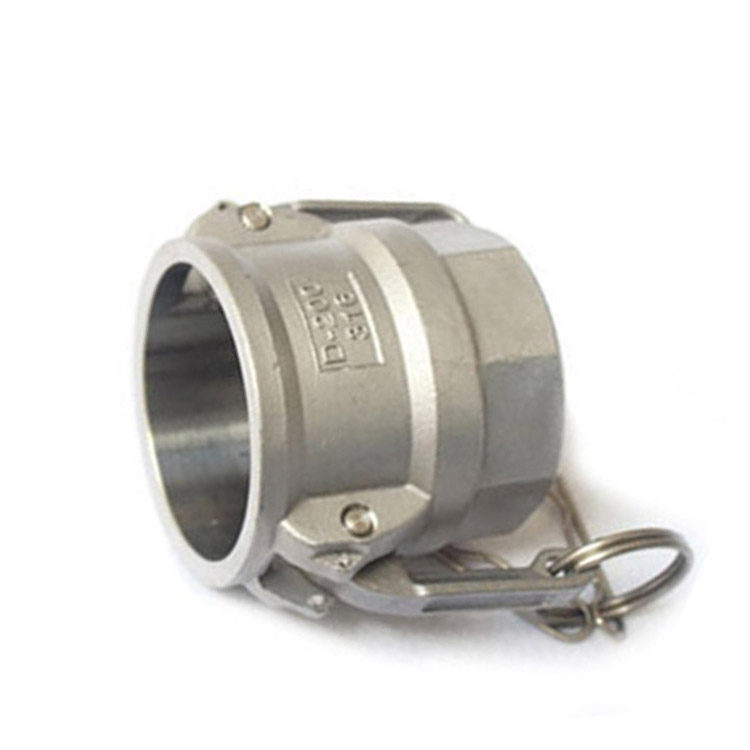 Type D - Stainless steel quick coupling camlock for hose fitting