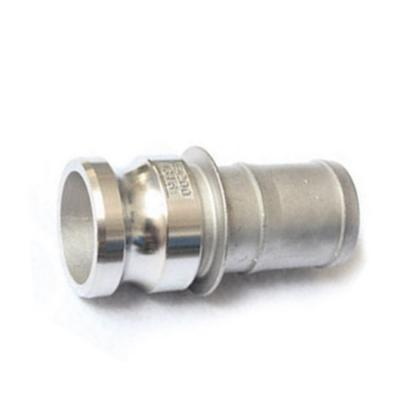 Type E - Stainless steel quick coupling camlock for hose fitting