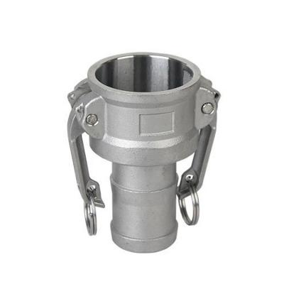 Type C - Stainless steel quick coupling camlock for hose fitting