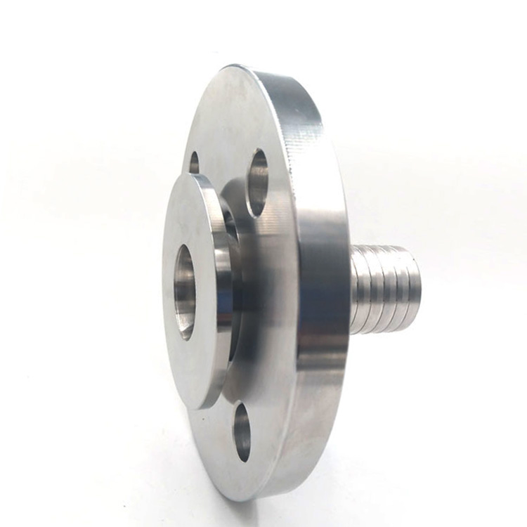 TYPE SLT - Swivel flange with toothed hose shank