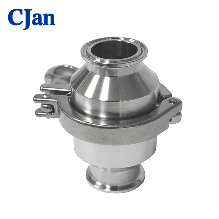 Stainless Steel Clamped Sanitary Flap Check Valve