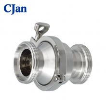 Food Grade Threaded Spring Check Valve