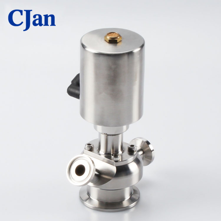 Sanitary Stainless Steel Pneumatic Sample Valve