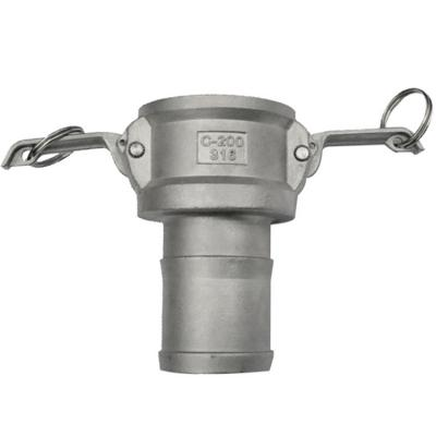 Camlock-C, Type C - Stainless steel quick coupling camlock for hose fitting