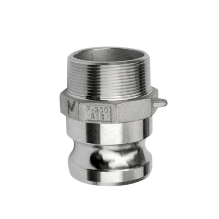Camlock-F, Type F - Stainless steel quick coupling camlock for hose fitting